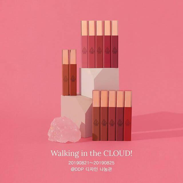 3CE Cloud lip tint Walking in the cloud K.Owls