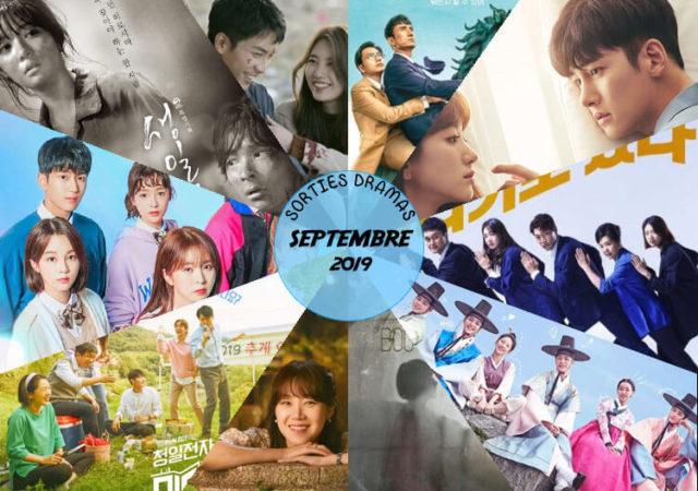 Sorties dramas Septembre 2019