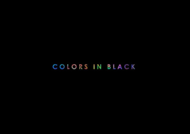 NELL COLORS IN BLACK