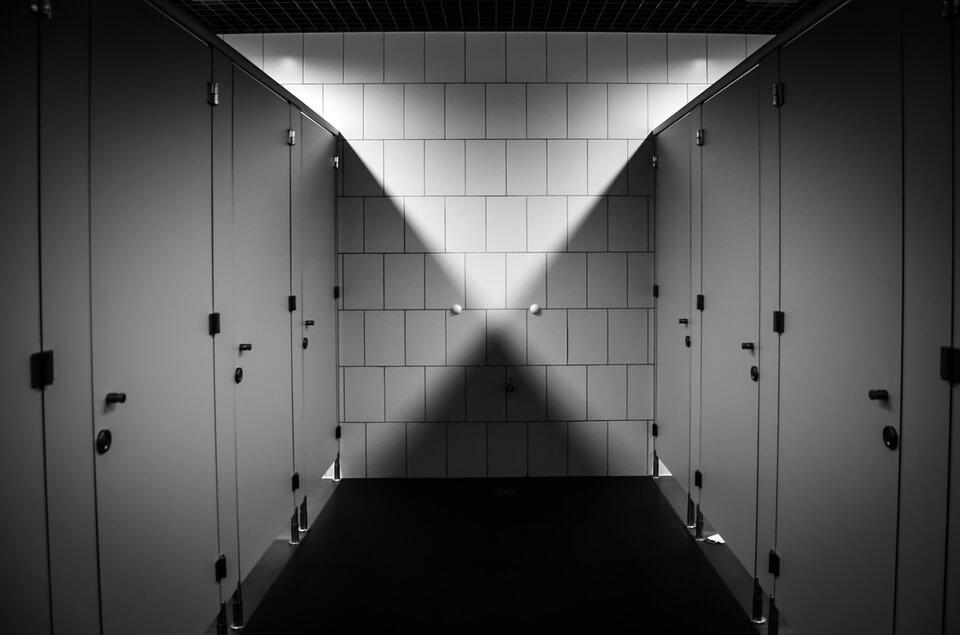 Halloween corée toilettes hantées