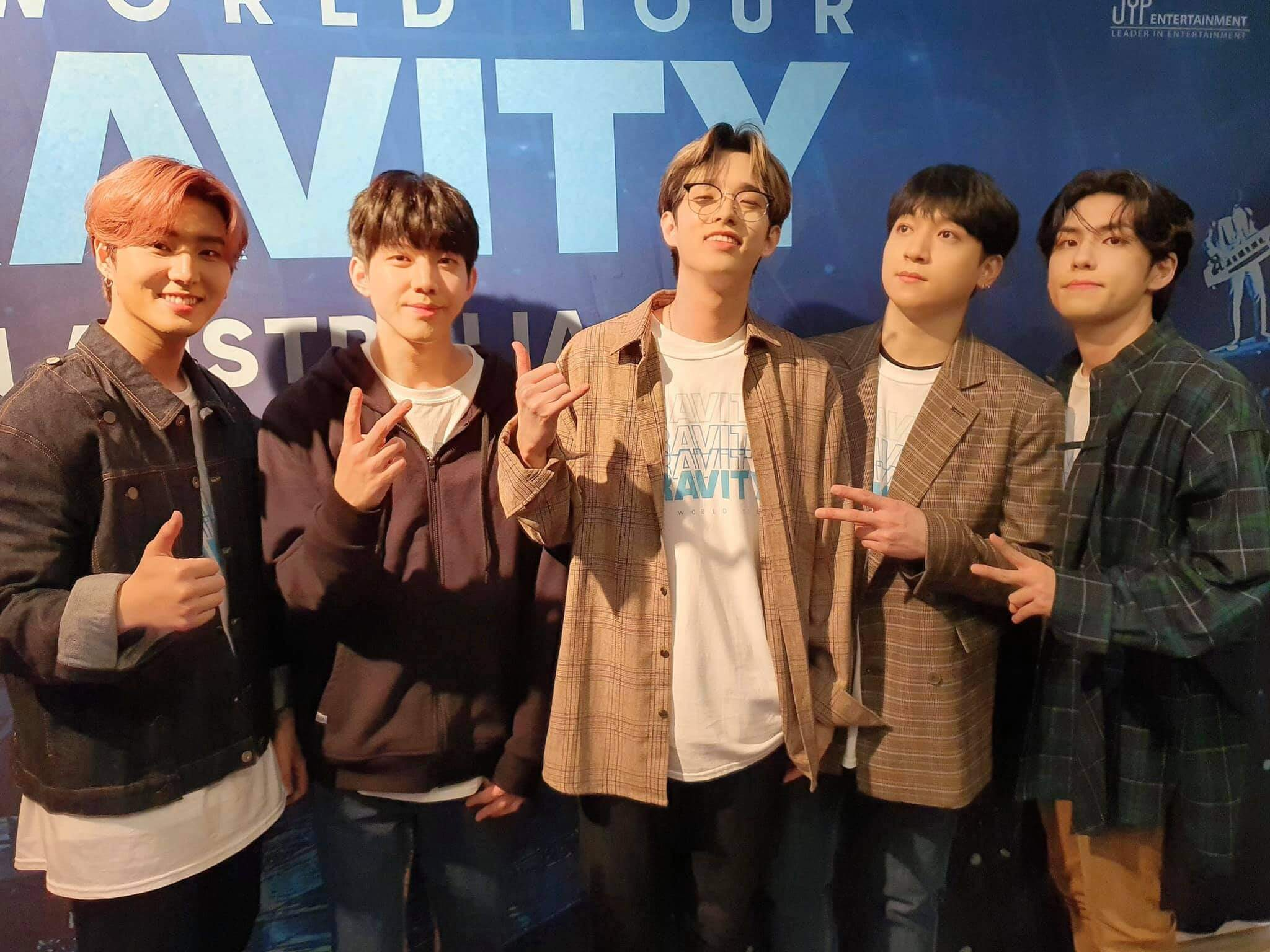 DAY6 World Tour Gravity Syndey