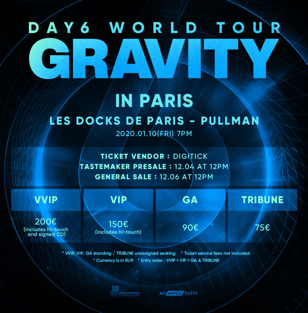 DAY6 Gravity Paris