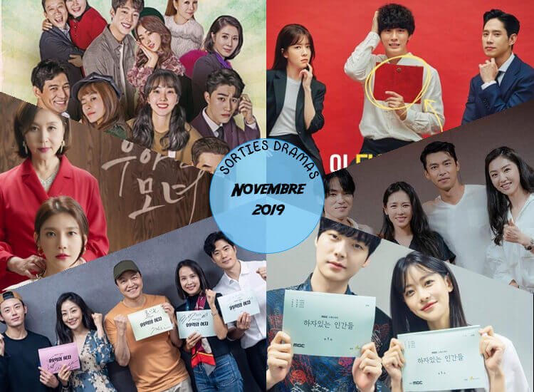 Sorties dramas Novembre 2019