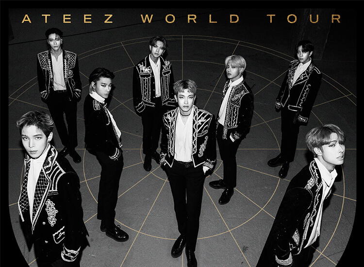 ATEEZ The Fellowship Tour