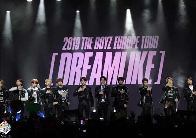 The Boyz Concert Paris