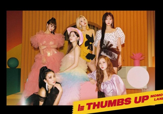 Photo teaser Momoland pour Thumbs Up