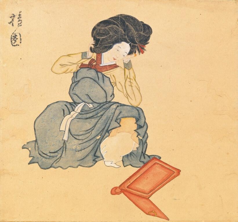 Coiffure femme gisaeng eonjun meori
