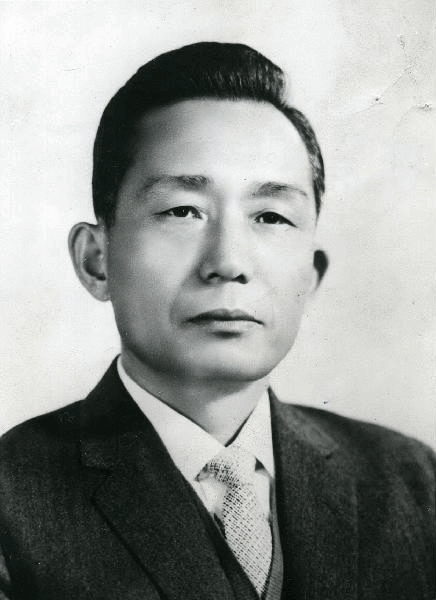 Le président de la Corée du sud Park Chung Hee (1963-1979)