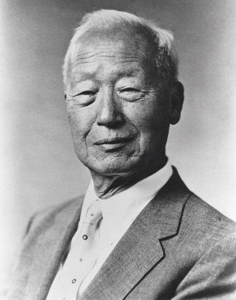 Le président Rhee Syngman (1948-1960)