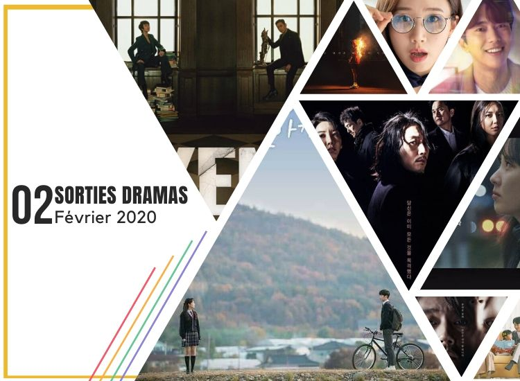 Février 2020 - Sorties dramas