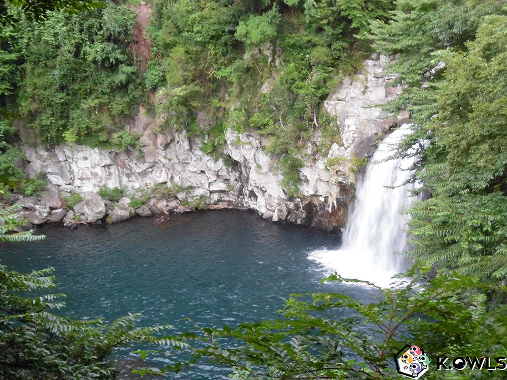 Troisième cascade Cheonjeyeon