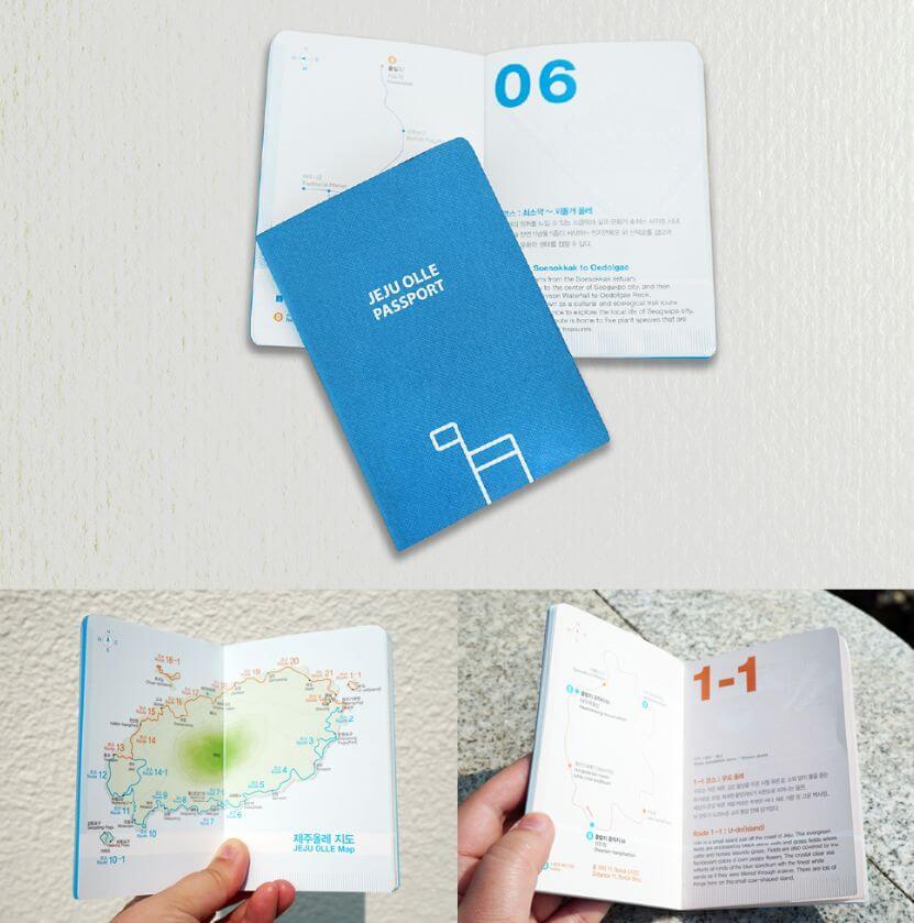 Jeju Olle Passeport