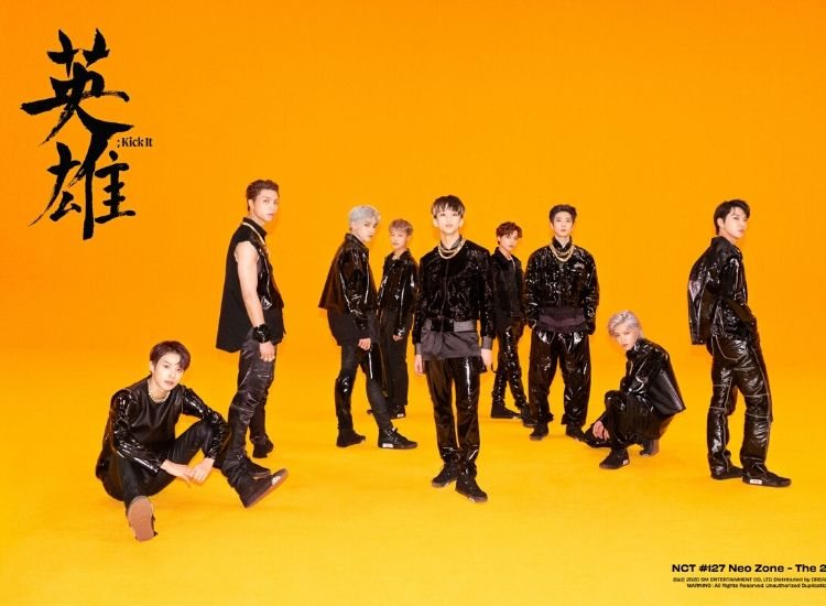 NCT127 kick it neozone groupe image de une