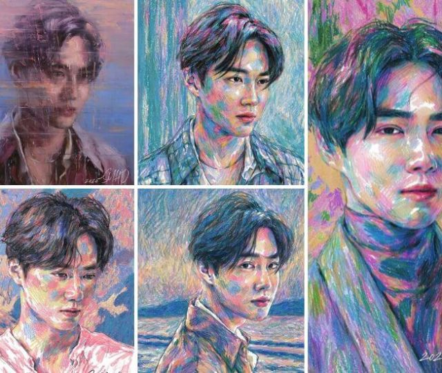Suho (EXO) dévoile Self-Portrait son premier mini album solo