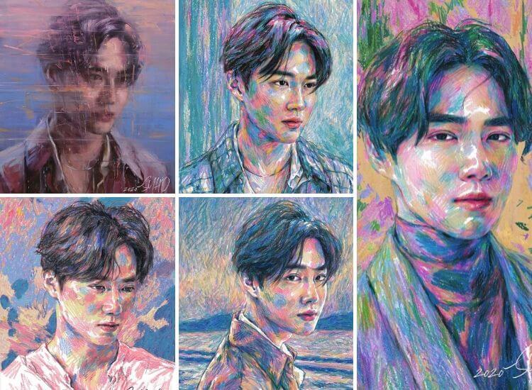 Suho (EXO) dévoile Self-Portrait son premier mini album solo
