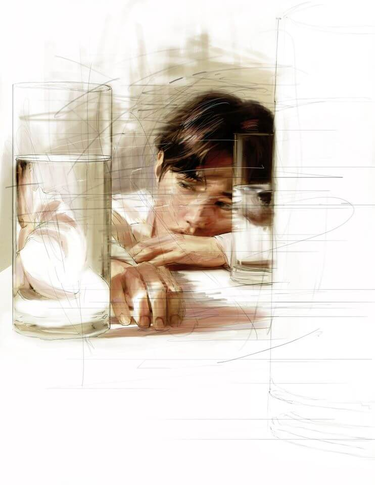 Suho dessin Self-Portrait teaser