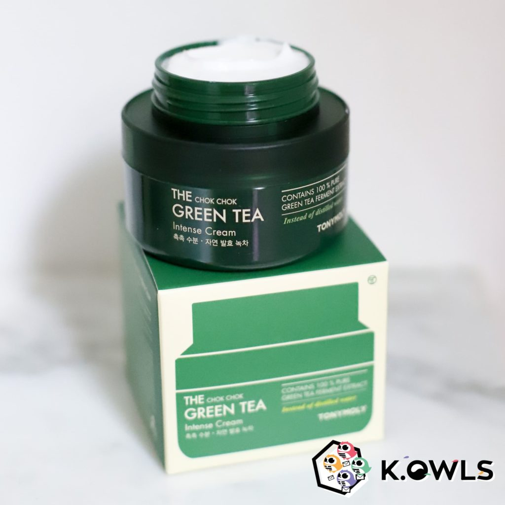 The Chok Chok Green Tea Intense Cream Mimik