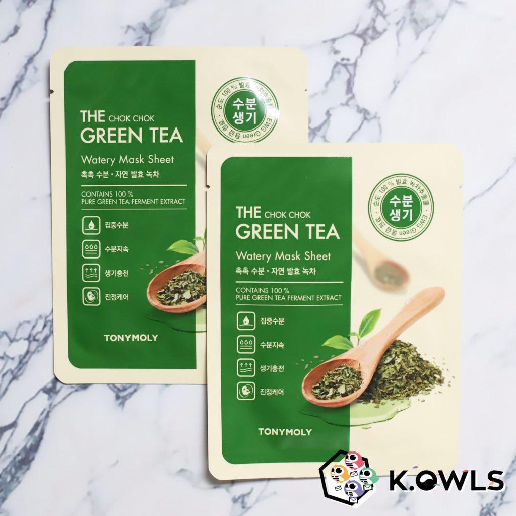 Wonder Chok Chok Green Tea Mask Sheet