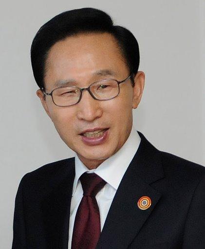 L'ancien président de Corée du Sud Lee Myung Bak (2008-2013).