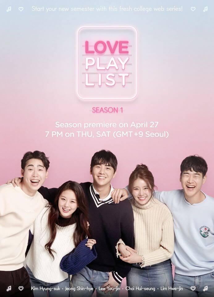Love Playlist - Top 10 mini-dramas romantiques