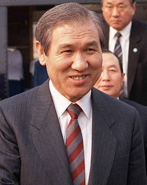 Président sud-coréen Roh Tae Woo