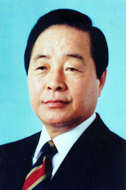 Président sud-coréen Kim Young Sam