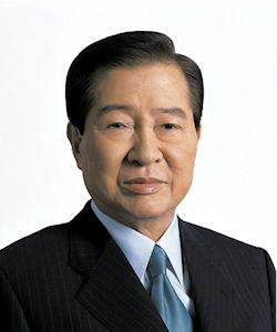 Président sud-coréen Kim Dae Jung