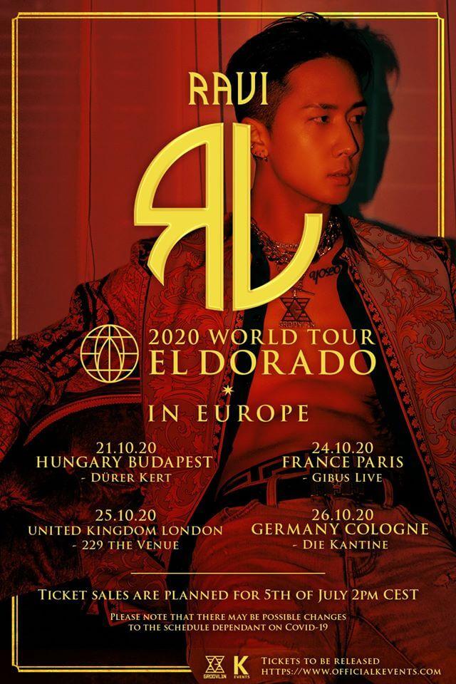 Ravi Tournée Européenne