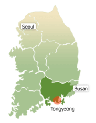 Carte Tongyeong