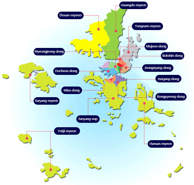 District Tongyeong