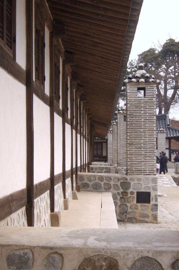 cheminée de ondol