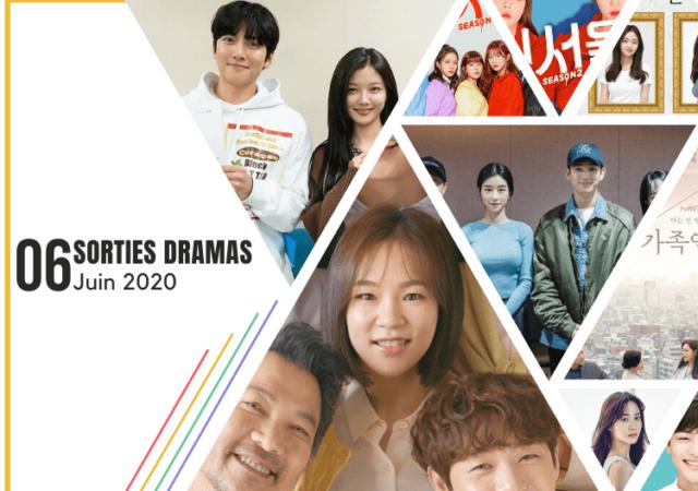 Juin 2020 - Sorties dramas