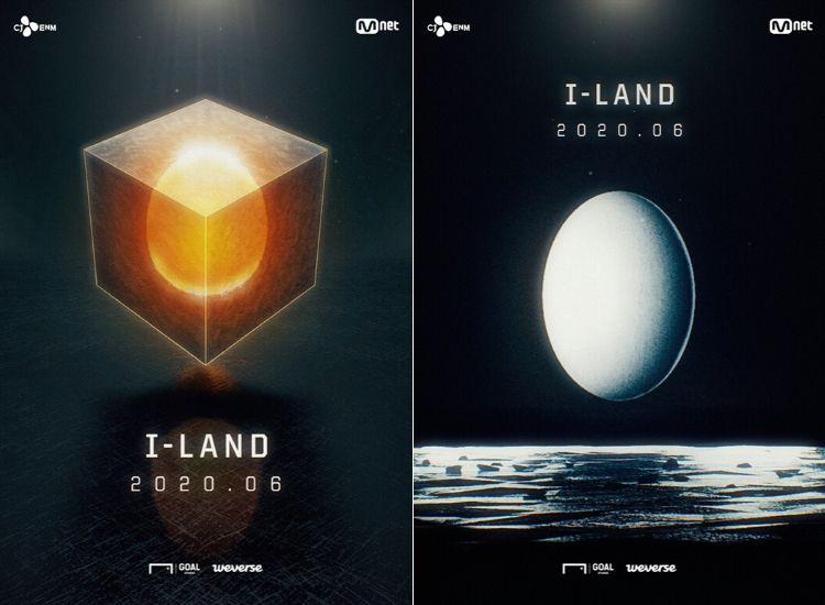 Affiches de l'émission I-Land par BELIF+ (CJ E&M et Big Hit)