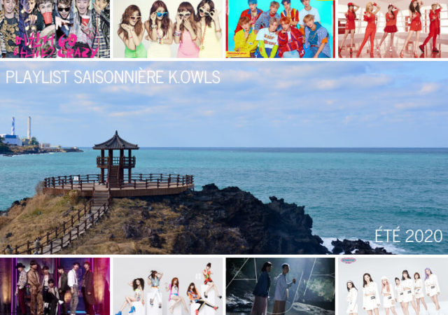 Playlist KMusic K-Pop K.Owls été 2020