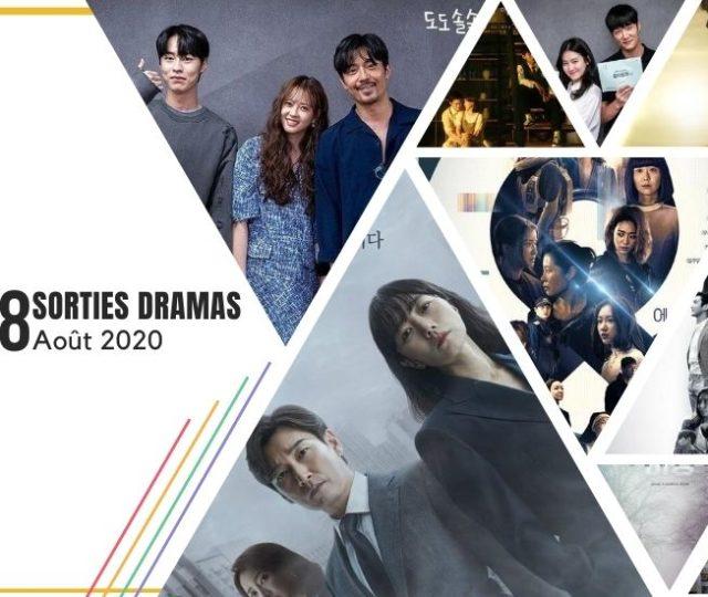 Août 2020 - Sorties dramas du mois